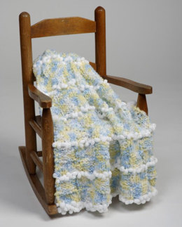 Baby Blankets in Plymouth Yarn Encore Boucle Colorspun - 1702 - Downloadable PDF