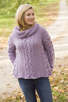 Rochester Sweater in Classic Elite Yarns Inca Alpaca