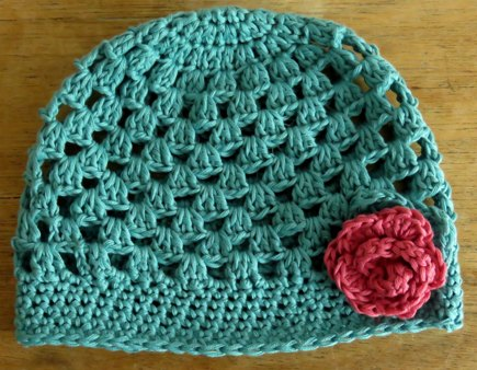 Parker Crochet Baby Hat crochet project by Tracey Todhunter ... 75ccdc6e531