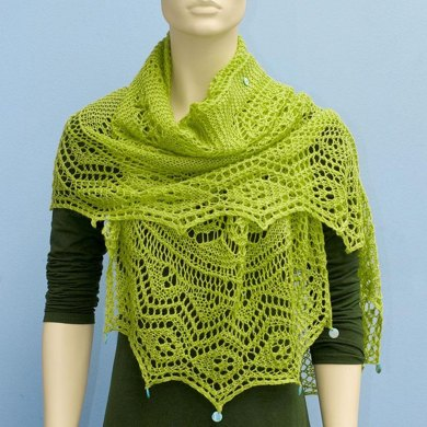 DIY LACE DEFINITION SCARF1403-026