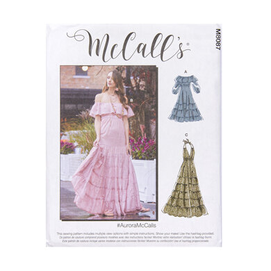 McCall's Misses' Dresses M8087 - Sewing Pattern