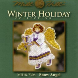 Mill Hill Snow Angel Cross Stitch Kit