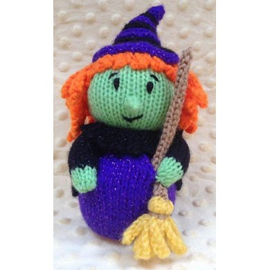 Ravelry: Amigurumi evil witch pattern by Jennifer Ramirez | 390x390