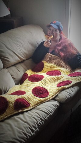 Pizza By the Slice Blanket