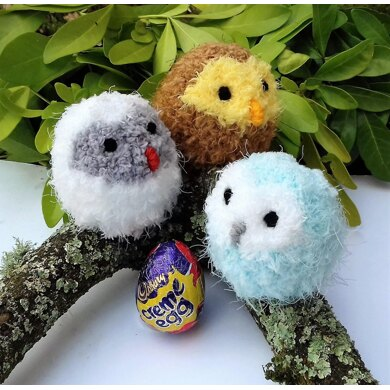 Easter Owl Babies - Creme Egg Cosies