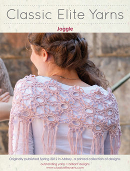 Joggle Scarf in Classic Elite Yarns Allegoro - Downloadable PDF