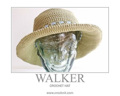 Crochet Hat WALKER (USA - American)