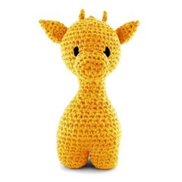 Giraffe Ziggy Toy in Hoooked RibbonXL