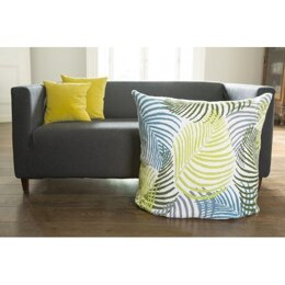 DMC The Big Chill Giant Tapestry Cushion - Botanical Fronds