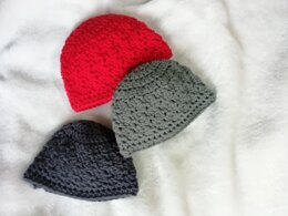 Easy and cute baby beanie