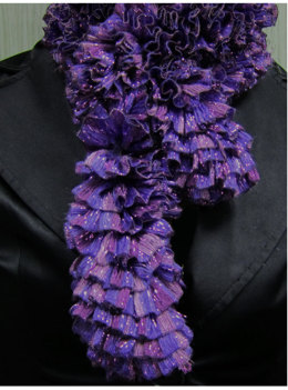 Scarf in Knitting Fever Tinseltown