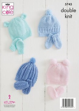 Accessories in King Cole Comfort Baby DK - 5743 - Leaflet