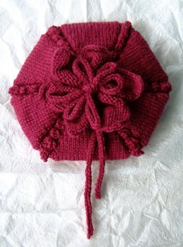 Flower beret and corsage