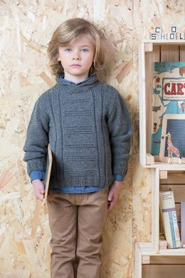 Noan Sweater in Phildar Merinos 6 - Downloadable PDF