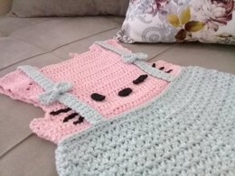 Cute HELLO KITTY Baby Dress by SweetSamDesign LoveCrochet