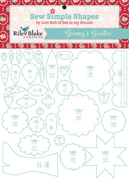 Riley Blake Sew Simple Shapes in Granny's Garden