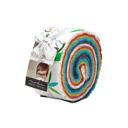 Moda Fabrics Bicycle Bunch 2.5in Strip Roll