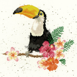Bothy Threads Toucan of my Affection Cross Stitch Kit