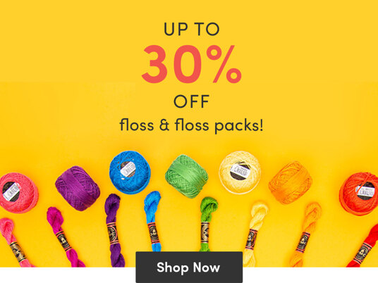 Up to 30 percent off floss & floss packs!