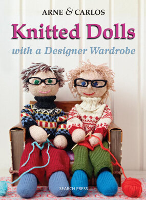 Arne and Carlos' Knitted Dolls with a Designer Wardrobe