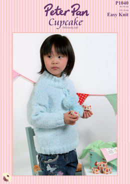 Sloppy Joe Sweaters in Peter Pan Cupcake - 1040