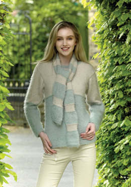 Sweaters & Scarves in King Cole - 4962 - Leaflet