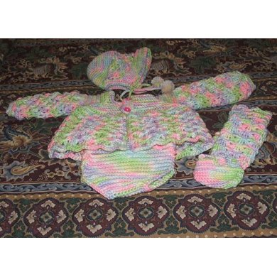 4 pc. Infant Sweater Set