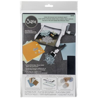 Sizzix Chrome Precision Base Plate For Intricate Thinlits - 322265