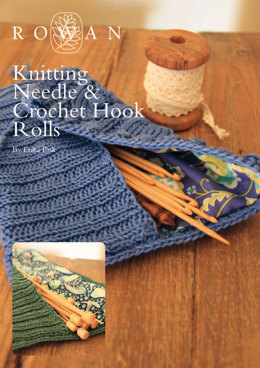 Knitting Needle & Crochet Hook Rolls in Rowan Cotton Glace