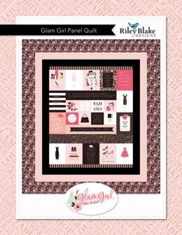 Riley Blake Glam Girl Panel Quilt - Downloadable PDF