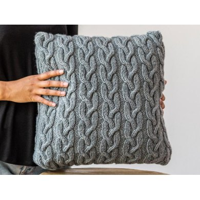 Highland Cable Cushion Knitting Pattern 406 Knitting Pattern By