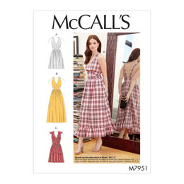 McCall's Misses' Dresses M7951 - Sewing Pattern