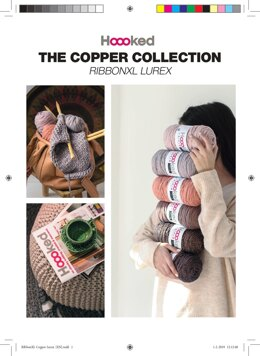 The Copper Collection in Hoooked Ribbon XL Lurex - LL01 - Downloadable PDF