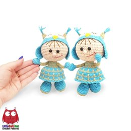 209 Doll in an Owl outfit