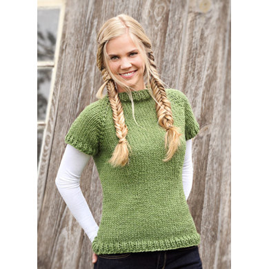 Polly Pullover in Spud & Chloe Outer - 9213 (Downloadable PDF)