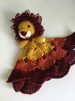 Loopy the Lion Security Blanket