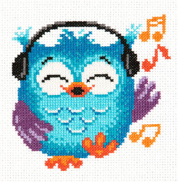 Magic Needle Owlet Cross Stitch Kit - 14cm x 15cm