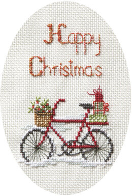 Derwentwater Designs Christmas Delivery Cross Stitch Card Kit