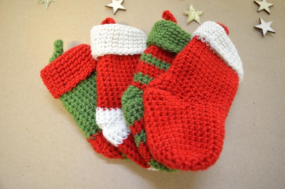 Bernat Knitting Pattern Christmas Stocking