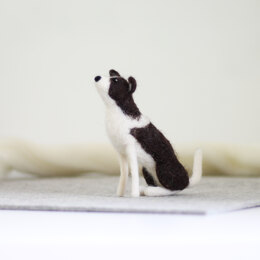 Hawthorn Handmade Border Collie Needle Felting Kit - Multi