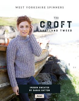 Imogen Sweater in West Yorkshire Spinners The Croft Shetland Tweed - DBP0062 - Downloadable PDF