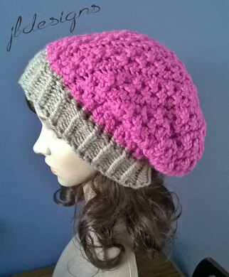 Vertical Vines Slouch Hat