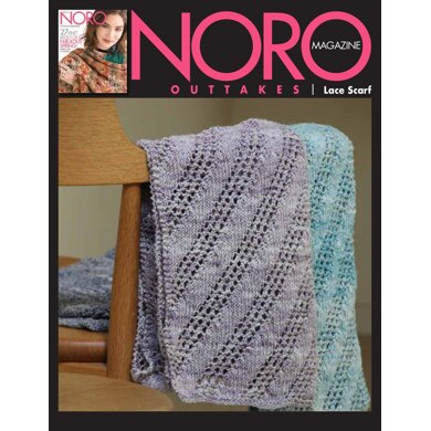 Lace Scarf in Noro Kumo - 14906 - Downloadable PDF
