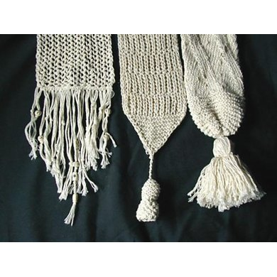 Summer Scarves in Three Styles