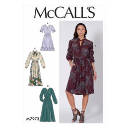 McCall's Misses' Dresses M7973 - Sewing Pattern