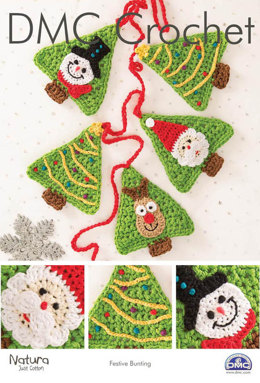 Festive Bunting in DMC Natura Just Cotton and Soft Cotton - 15323L/2