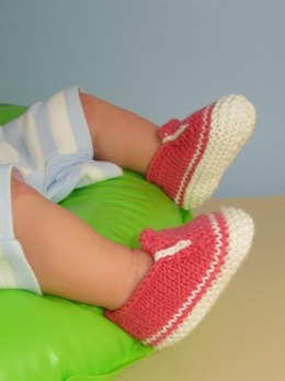 Baby Simple Slip On Deck Shoes Booties