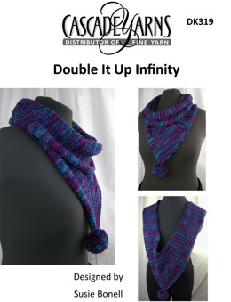 Double It Up Infinity in Cascade 220 Superwash Sport - DK319