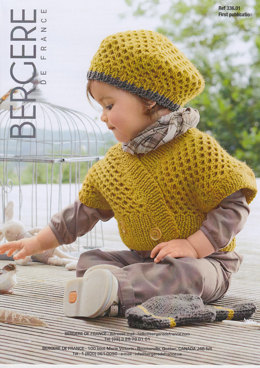 Gilet, Beret and Mittens in Bergere de France Magic+ - 33601
