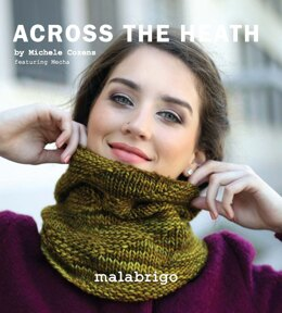 Across the Heath Cowl in Malabrigo Mecha - Downloadable PDF
